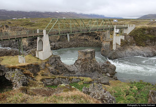 Skjálfandafljót Bridge, Þingeyjarsveit, Iceland