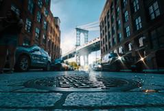 """Dumbo Streets"" (36D VIEW) Tags: a6000 mirrorless sony canon1018mmf4 brooklynbridgepark dumbo manhattanbridge bridge brooklyn"