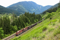 CP 8806 ~ North Bend (Chris City) Tags: train railway railroad cpr coal empty fraserriver