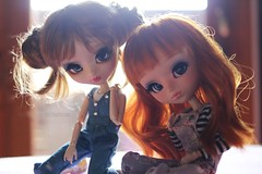 Why don't you know ? 💕 (Juju DollPassion) Tags: pullip dolls doll sunny full custom custo fc azazelle ovie lydioteisen wig eyes lullaby monique red hair brown sun