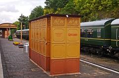 THAT gents toilet! (wontolla1 (Septuagenarian)) Tags: bewdley station severn valley railway cast iron gents toilet shropshire midlands george smith glasgow