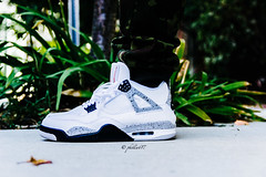Nothing like a classic.. Air Jordan 4 cement (PJC Photography) Tags: airjordan airjordan4 cement4s sigma1750mm sigma sneakers sneakerlife sneakerhead cement
