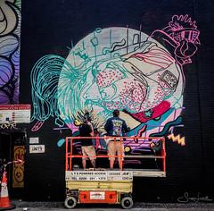 20170718-IMG_3620 And here is the whole chicken (susi luard 2012) Tags: ebor kfc street advertising artists e1 graffiti london streetart uk