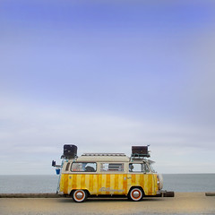 Camper Van (Harry Potts) Tags: campervan camper vw beach surfing summer2