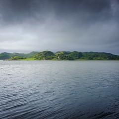 Summer Greens (Christopher Swan) Tags: landscape highlands duntrune hills wwwchristopherswanphotographycom light fujifilmlandscape atlantic scotland grey argyll summer island sky seascape ocean x100 crinan sea