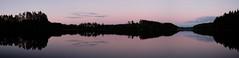 Lake Oulanki in the Midsummer Night (Mika K.) Tags: oulanki 2017 maisema suomi järvi mikkeli panorama