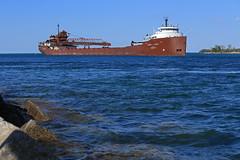 Herrrrbie (GLC 392) Tags: inter lakes interlakes steamship steam ship comapny herbert c jackson water river port huron mi michigan classic laker st saint clair claire