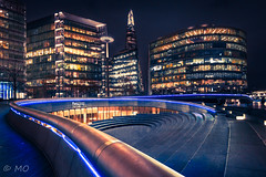 London scoop (mathieuo1) Tags: london shard uk europe travel city capital night le longexposure dynamic scape view street streetphotography towerbridge building scenic lines composition imagination photography form shape illumination light colors stairs perspective compostion nikon dlsr d800 16mm wide wideangle tripod mathieuo urban architecture modern cityscape panorama panoramic