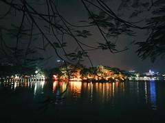 Hoan Kiem Lake 0417 (nganhoang2) Tags: vietnam hanoi lighting