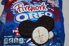 Nasbisco Firework Oreo (Like_the_Grand_Canyon) Tags: sandwich cookie