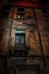 3 (JC Arranz) Tags: city street window night light house old vintage urban architecture building shadow españa art wall dark home dirty outdoors tarragona alcover no person