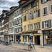 street in the Old Town of Winterthur, Switzerland