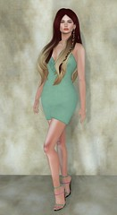 Sn@tch 1 (Treycee Melody) Tags: sntch new dress hair colorhud fashion secondlife womens