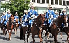 Change of guards parade (bokage) Tags: sweden stockholm bokage street soldier uniform horse riding changeofguard vaktparaden