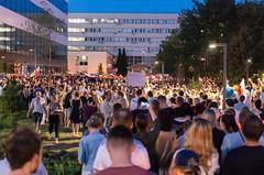 IMGP7218 (TomaszMazon) Tags: protest democracy krakow poland court anti government crowd