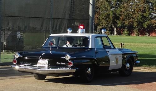 Tulare Ca Police 1962 Dodge Dart 330 Restored Replica 19 A