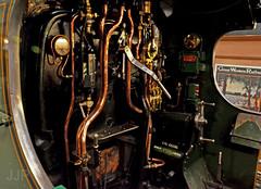 Footplate Controls (Luzon Jim) Tags: cab driver controls locomotive steam engine nikonphotography