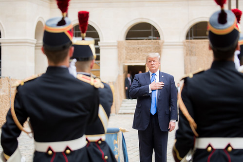 President Trump's trip to France by US Department of State, on Flickr