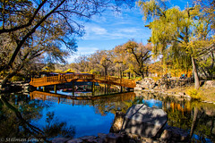 Jardin du Palais de la Paix Universelle 4 (TravelerRauni) Tags: architecture asie chine ciel continentsetpays montagne nature parc paysage pont riviere