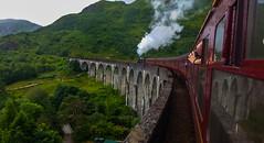 Hogwarts Express aka Jacobite 45212 at Glenfinnan Viaduct (Donald Morrison) Tags: glenfinnanviaduct glenfinnan viaduct bridge locheil 45212 jacobite train locomotive steam fortwilliam mallaig harrypotter hogwartsexpress