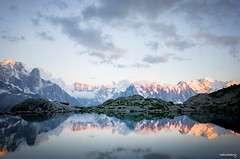 Mirror... (zacchary) Tags: ricoh travel landscape grii montblanc mountain lightroom raw beautifulscenery nature 28mm