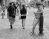 Calgary Stampede, Downtown Action (Sherlock77 (James)) Tags: calgary downtown stephenavenue calgarystampede streetphotography people man