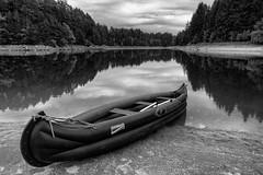 * (andreassimon) Tags: boot ottenstein spiegel waldviertel sw österreich rastenfeld niederösterreich reflection kanu canoe stichworte landregionort aufnahmeort
