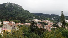 Sintra (ania512) Tags: sintra architecture nature landscape mountains mist clouds city mysterious