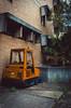 Street Sweeper (thomasdwyer) Tags: brutalism newbrutalism sydney sydneybrutal uts utskuringgai kuringgaicollegeofadvancededucation kcae utslindfield australia nsw lindfield machine machinery streetsweeper cleaner sweep sweeper weeds building
