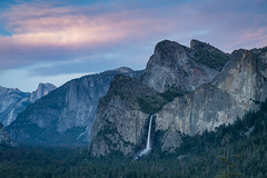 Bridalveil Falls (Jeremy Duguid) Tags: yosemite national park landscape nature travel waterfall falls waterfalls sunset california cali parks jeremy duguid sony west western half dome mountains valley trees world usa beauty