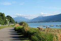 Aix-les-Bains at Lac du Bourget (florestan49) Tags: reisen see lacdubourget aixlesbains france frankreich