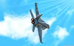 Thurst Right (Robert Streithorst) Tags: airforce airplane daytonairshow2017 f18 fighter robertstreithorst aircraft warbird warplane