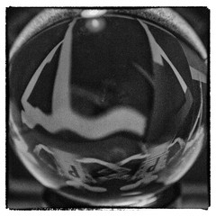 365_11.07.17 (Trudie Callan 2) Tags: 3652017 day192365 crystal ball cushion harrods grainy shapes