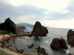 View #12 from Gono Line in Aomori (Fuyuhiko) Tags: view from gono line aomori 形式 五能線 jr 青森 青森県 ローカル線 pref prefecure prefecture
