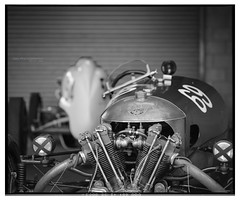 VSCC_Oulton_Park_2017_RB67-6 (D_M_J) Tags: 100 120 180mm 2017 6x7 hc110 oultonpark rb67 v850 vscc atmosphere bw black blackandwhite camera car club delta epson film format formula horthorn ilford kodak mamiya medium memorial mono monochrome motor motorsport paddock pro racing roll sd sports sportscar trophies vintage vuescan white