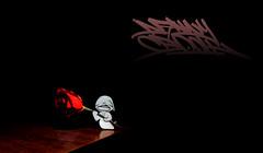 Booh (Danny Boligraffiti) Tags: arte art tag wallpaper fantasma imaginacion graffiti street texto negro noche fondo follow