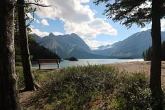HBM Happy Bench Monday (davebloggs007) Tags: hbm happy bench monday upper kananaskis lake alberta canada july 2017