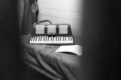 Last music! (frank.gronau) Tags: frank gronau sony alpha 7 alcatraz prison jail gefängnis schwarz weis black white san francisco usa bw musik music