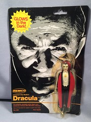 Remco Mini Monster (Glow) - Dracula MOC (toyfun4u) Tags: remco mini monster dracula