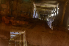 multi exposure (stevefge) Tags: bremen deutschland germany valentin bunker submarine multiexposure reflectyourworld