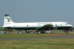 DC6B  G-SIXC  AIR ATLANTIQUE (shanairpic) Tags: propliner dc6 douglasdc6 coventry airatlantique gsixc