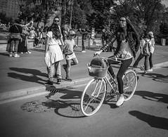 Milano biker (Henka69) Tags: bike bicycling milano streetphoto street monochrome bw