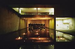 Night glow (russtii) Tags: 35mm naturablack fujifilm filmphotography film night fountain reflection ambience analog analogue moody nightlight filmisnotdead keepfilmalive shootfilmstaybroke queenslandartgallery evening kodakproimage100 proimage100 grain brisbane australia