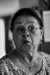 Home - Kissyface (Cameron McGhie) Tags: portrait homephoto grandmother face blackandwhite blackwhite bw bandw family kissyface funny 85mm prime lens daytime artsy art italian nikond5300 nikon cameronmcghie