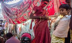 Backstage series   Mayana Kollai,Bhuvanagiri,Chidambaram. (Vijayaraj PS) Tags: red india asia nikond3200 streetphotography indianstreetphotography street indianculture tamilnadu angalamman mayanakollai light shadows tradition makeover backstage village eyes people