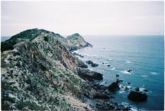 (grousespouse) Tags: vietnam quynhon eogio 2017 binhdinh analog 35mm film nikonf3 nikonseriese 28mm wideangle landscape ocean peninsula agfavista200 analogue croplab grousespouse filmisnotdead