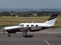 N350NM Piper PA-46-350P Malibu Mirage M350 (Aircaft @ Gloucestershire Airport By James) Tags: gloucestershire airport n350nm piper pa46350p malibu mirage m350 egbj james lloyds