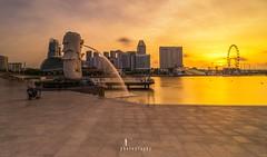 Sunrise (jaywu661) Tags: cityscape landscape marinabaysg marinabay marinabaysands singapore merlion sunrise