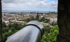 Cannon (j_chim09) Tags: unitedkingdom uk scotland edinburgh edinburghcastle view cannon overlook city old new urban historical heritage ancient