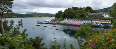 Summer in Scotland (Ralph Rozema) Tags: portree schotland skye isle island summer harbour flowers colorful scotland